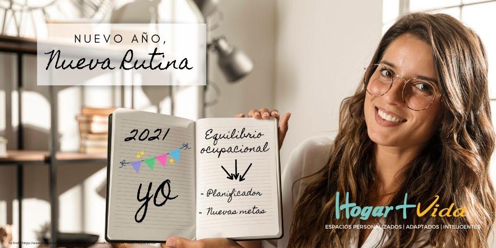 Nuevo año, nueva rutina: Equilibrio ocupacional, planificador y rutinas.